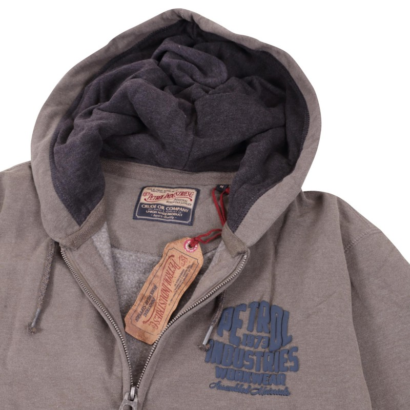 SWEATER HOODED WITH ZIPPER