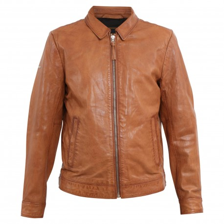 INDIE COACH LEATHER JACKET