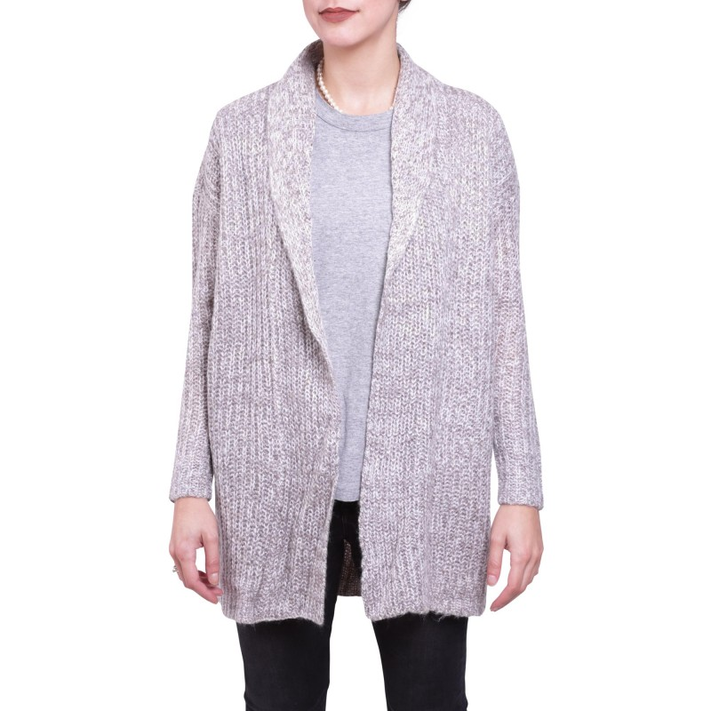 PALERMO L/S OPEN CARDIGAN KNT