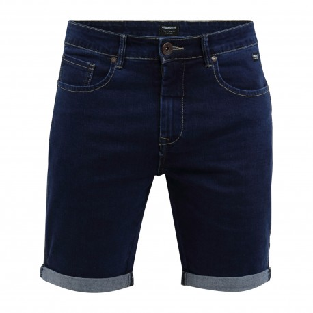 STRETCH DENIM SHORT PANTS