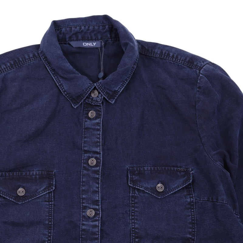 ROCK IT REG DENIM SHIRT