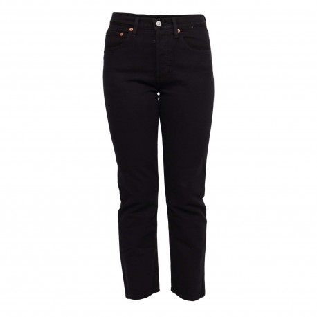 501® ORIGINAL CROPPED BLACK SPROUT