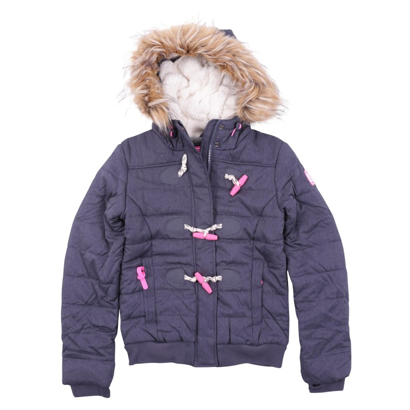 MARL TOGGLE PUFFLE JACKET