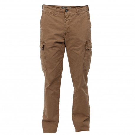 MENS GARMENT DYED STRETCH CARGO PANTS