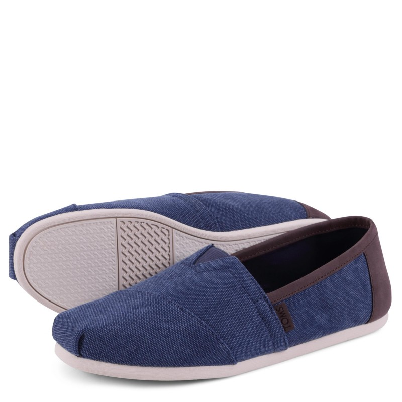 CLASSIC NAVY WASHED CANVAS / TRIM