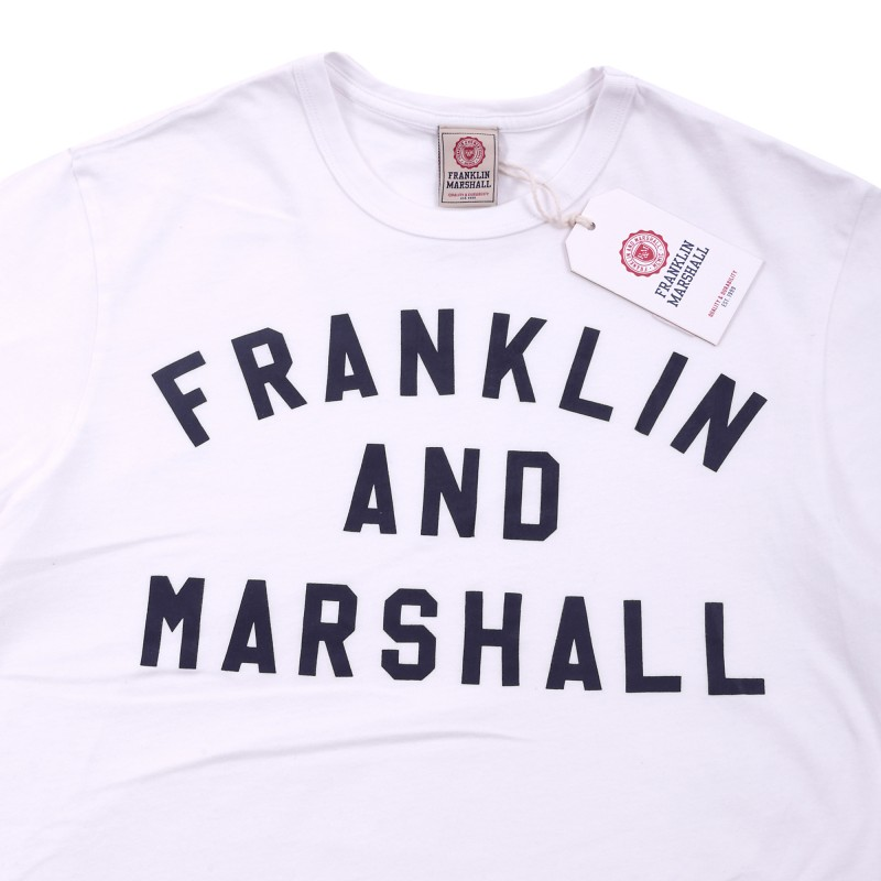 FRANKLIN MARSHALL CREW NECK TOP