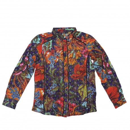 TOSCANA WOVEN LONG SLEEVE SHIRT