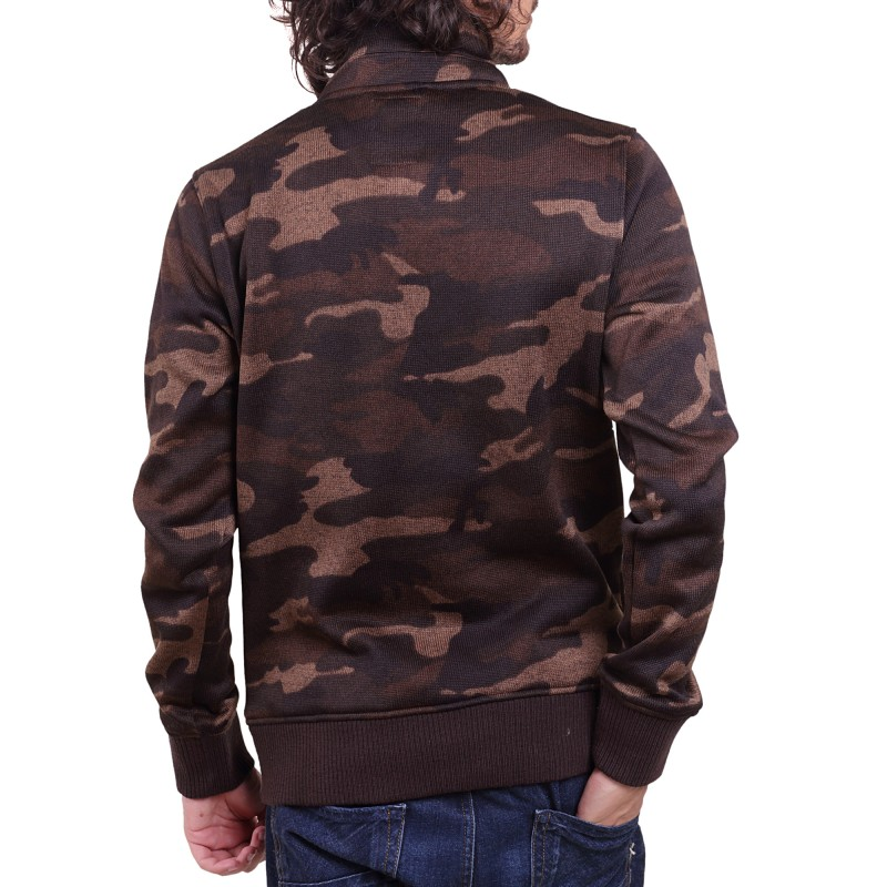 BOMBER JACKET CAMO SWEAT