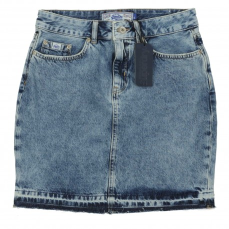 D2 DENIM MINI SKIRT