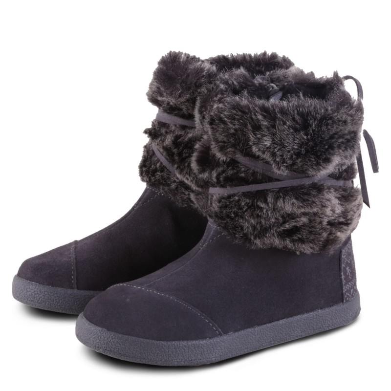 NEPAL CASTLEROCK SUEDE WITH FAUX FUR