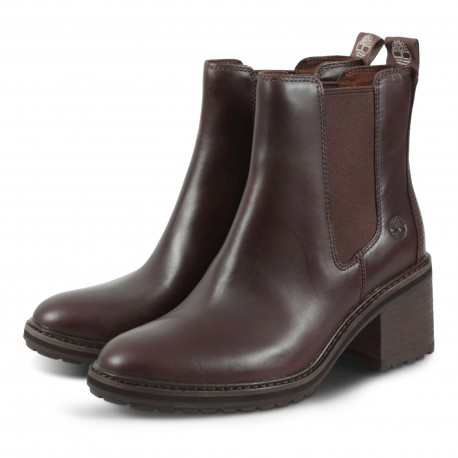 SIENNA HIGH CHELSEA CHESTNUT