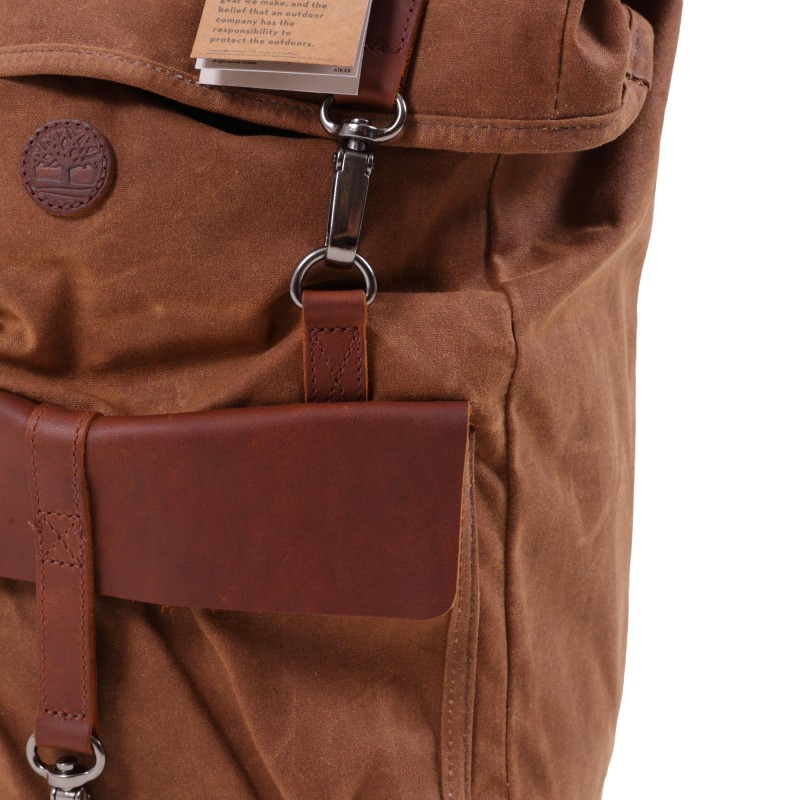BACKPACK WAXED ROLL TOP 24L