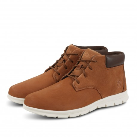 GRAYDON LEATHER CHUKKA ARGAN
