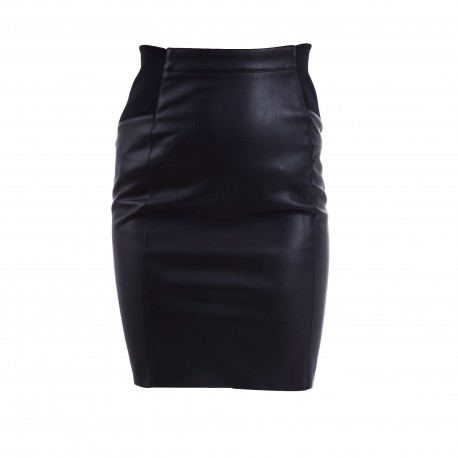 VMBUTTERSIA HW COATED SKIRT NOOS