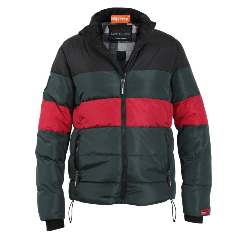 Superdry Colour Stripe Sportd Puffer SDM5000012A00000 Πολύχρωμο